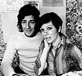 Giorgio Gaber and Obretta Colli 1973.jpg