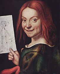 Giovanni Francesco Caroto: Red-headed Youth Holding a Drawing