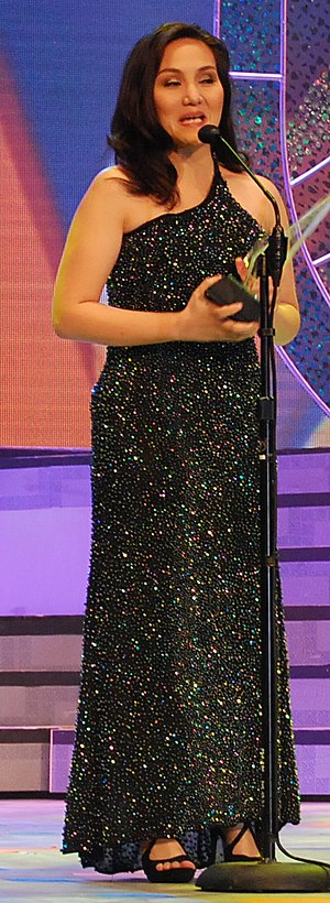 Gladys Reyes - Gladys Reyes at the 25th PMPC Star Awards for Television, 2011