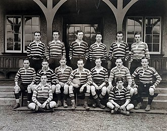 Glasgow Academicals RFC - The 1911–12 squad