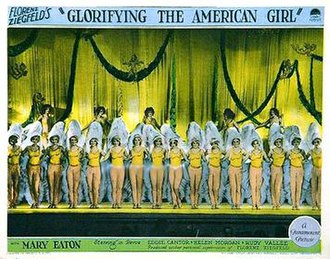 Glorifying the American Girl - Poster for the film.