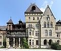 Gmunden - Schloss Cumberland, Hauptfassade.JPG