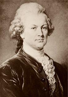 Gotthold Ephraim Lessing nach einem Gemälde von C. Jäger (Quelle: Wikimedia)