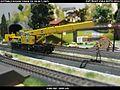 Gottwald Railway Telescopic Crane GS 100.06T DB Bahnbau Kibri 16000 Modelismo Ferroviario Model Trains Modelleisenbahn modelisme ferroviaire ferromodelismo (14233420789).jpg