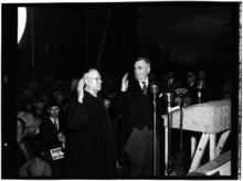 Governor Hugh White's Inauguration, New Capitol, Jackson, 1-22-1952..png