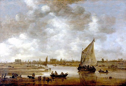 Goyen 1650 View of Leiden from the Northeast