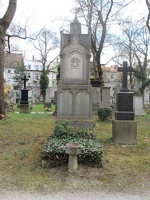 Adolf Schlagintweit - Adolf Schlagintweit grave