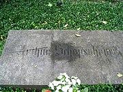 Schopenhauer's gravestone