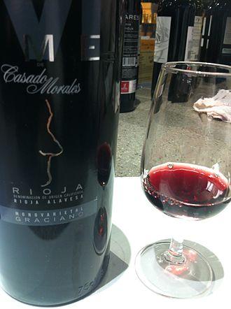 Graciano - A varietal Graciano from Rioja.