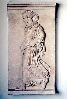 La Gradiva, esempio di scultura neoattica