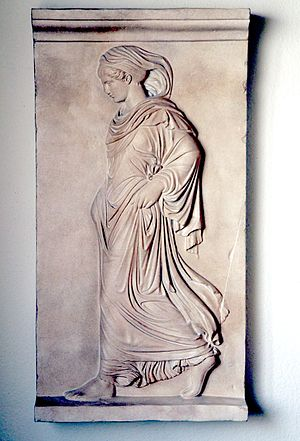 Neo-Attic - The Gradiva, an example of a Neo-Attic sculpture