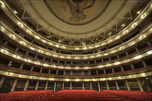 The Great Theatre of Havana interior.
