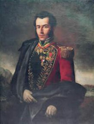 Battle of Ayacucho - Grand Marshal of Ayacucho, Antonio José de Sucre.