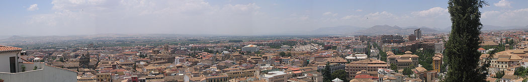 View of the city from Albaicín