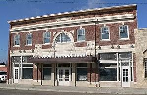 National Register of Historic Places listings in Madison County, Nebraska - Image: Grand Theatre (Norfolk, Nebraska) from NE 2