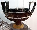 Grande kantharos in bucchero, da vetulonia, poggio al bello, tomba del duce, 550-525 ac. ca..JPG