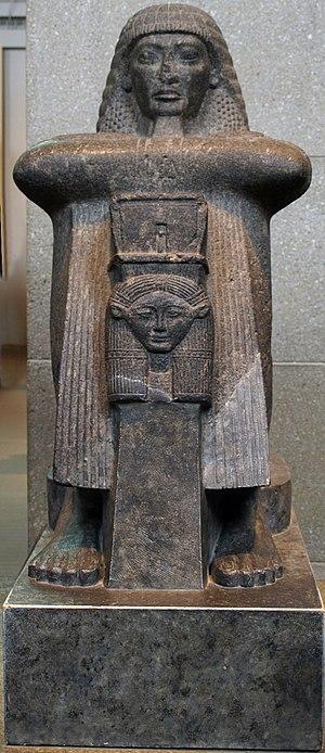 Second Prophet of Amun - Image: Granite Statue Of Roy British Museum August 19 08