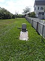Grave of George W. Laird, alone in the front yard.jpg
