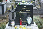 Grave of Marian Jaszczor at Posada Cemetery in Sanok.jpg