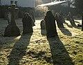 Gravestones, Ide - geograph.org.uk - 1739972.jpg