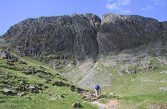 Great End - Great End from the top of Grains Gill