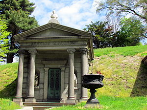 Charles Morgan (businessman) - Tomb, Green-Wood Cemetery, Brooklyn