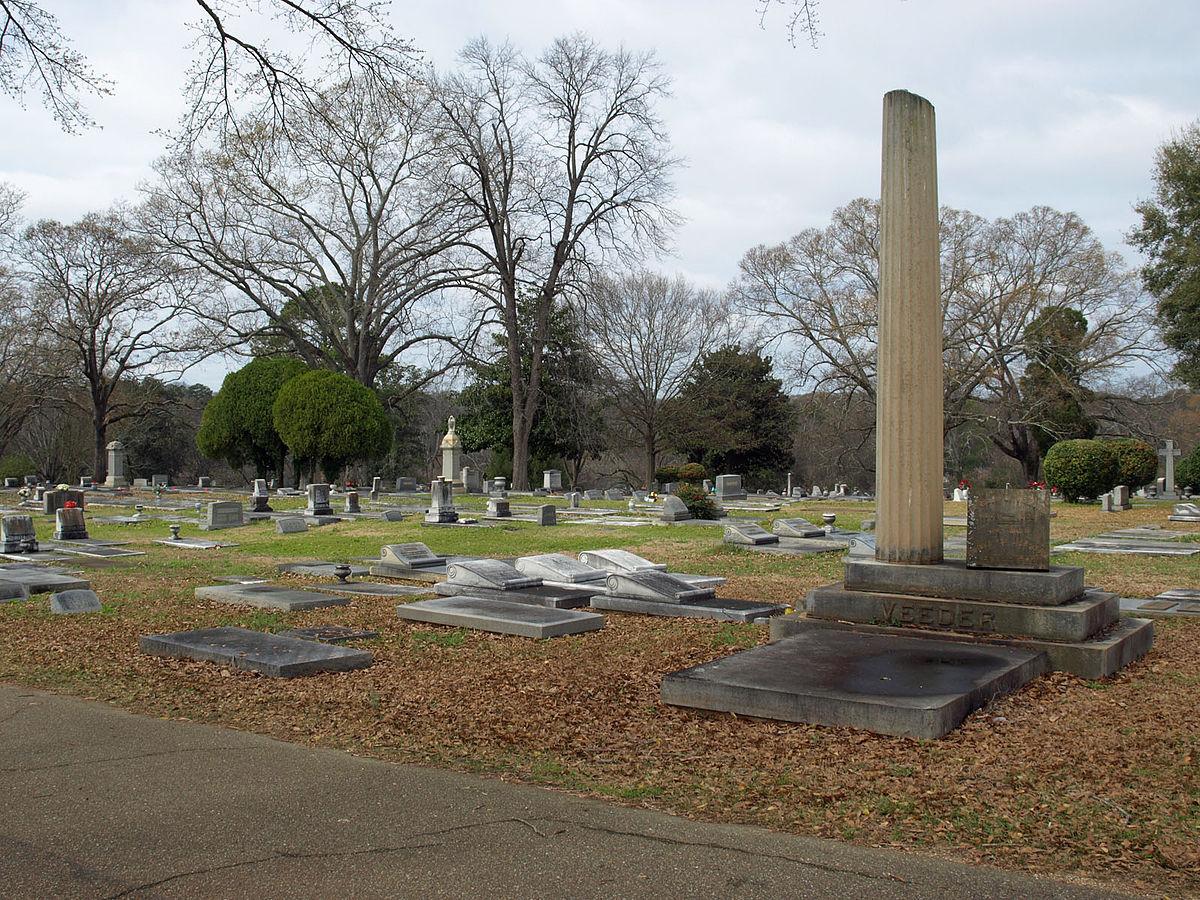 Greenwood Cemetery Montgomery Alabama Wikipedia
