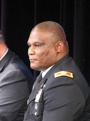 Gregory D. Gadson - Col. Gadson at a Mount Vernon town meeting in 2012.