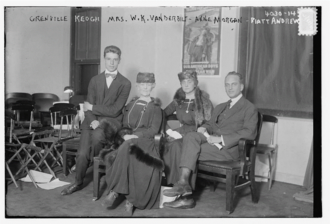 A. Piatt Andrew - Bain News Service/LOC ggbain.23095. Grenville Keogh, Mrs. W.K. Vanderbilt, Anne Morgan, Piatt Andrew, 1916 (Grenville Keogh was an ambulance driver for the American Ambulance Field Service)