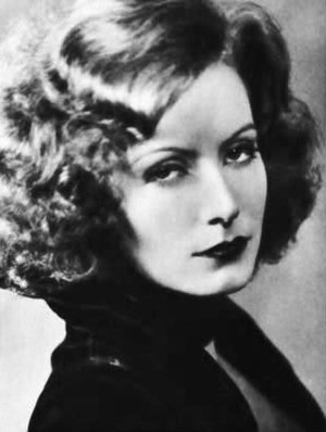 Publicity photo of Greta Garbo from Stars of t...