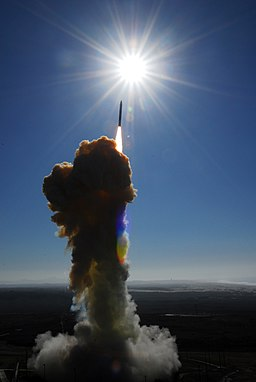 Ground-based interceptor lifts off from Vandenberg AFB - FTG-05