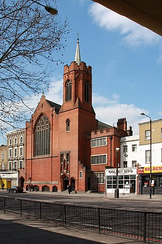 The Guardian Angels Church, Bow - Church of the Guardian Angels