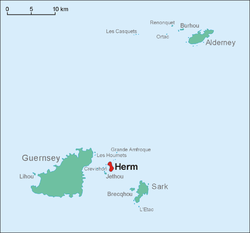 Location of Herm