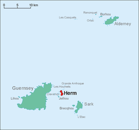Image illustrative de l'article Herm (île)
