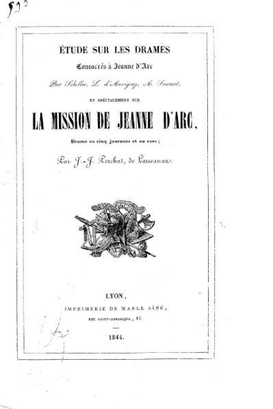 File:Guillard - Étude sur les drames consacrés à Jeanne d'Arc, 1844.djvu