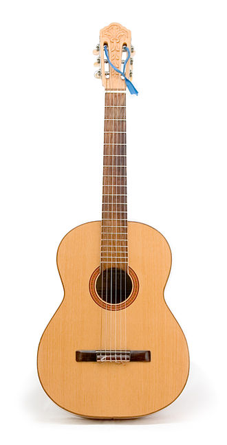 Acoustic music - A Brazilian guitar
