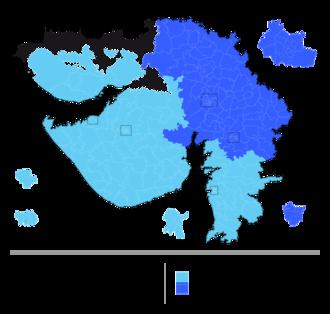 Gujarat Legislative Assembly election, 2017 - Image: Gujarat election schedule, 2017