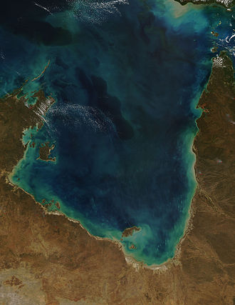 Gulf of Carpentaria - Gulf of Carpentaria from MODIS