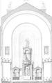 Gustav Adolf Kirche – Gumpendorf Aufrisz Altarraum 2.tif