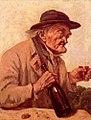 Gustave Courbet MuViel homme buvant un verre de vin Museum Gallery Londres.jpg