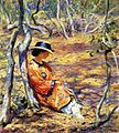 Guy Rose, 1919 - In the oak grove.jpg