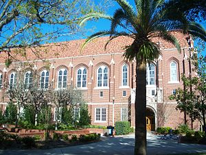 George Smathers - Smathers Library, formerly known as Library East, at the University of Florida