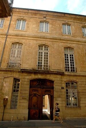 Charles de Grimaldi-Régusse - Hôtel Boyer de Fonscolombe