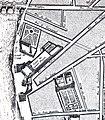 Hôtel de Conti, Collège des Quatre-Nations and Hôtel de Liancourt on 1676 Bullet & Blondel plan of Paris - David Rumsey.jpg