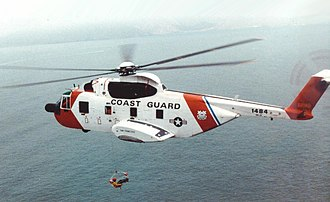 Sikorsky S-61R - Image: HH 3F Pelican from Coast Guard Air Station San Francisco (cropped)