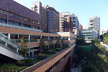 HKU Centennial Campus newly constructed in 2012.