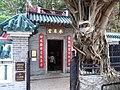 HK Ap Lei Chau Wind Tower Park 鴨脷洲風之谷公園 Ap Lei Chau Shui Yuet Temple 水月宮 tree trunk April-2012.JPG
