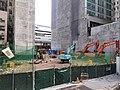 HK tram 49 tour view Des Voeux Road Central China Merchants construction site October 2020 SS2.jpg