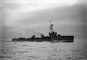 HMS Acasta IWM Q 020904
