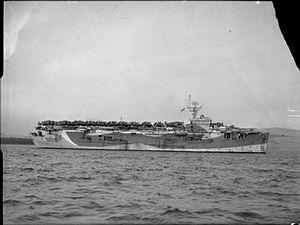 HMS Ameer (D01) - Image: HMS Ameer
